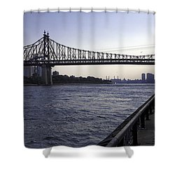 Queensboro Bridge - Manhattan Shower Curtain