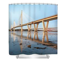 Queensferry Crossing 5 Shower Curtain