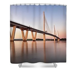 Queensferry Crossing Shower Curtain