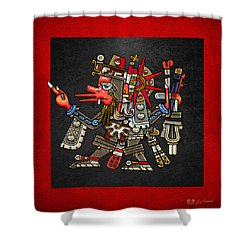 Quetzalcoatl - Codex Borgia Shower Curtain