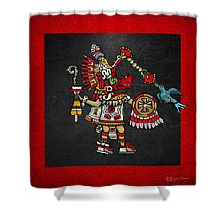 Quetzalcoatl - Codex Magliabechiano Shower Curtain