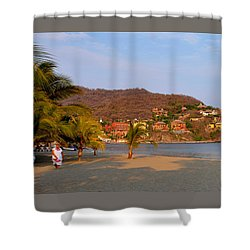 Quiet Afternoon Shower Curtain by Jim Walls PhotoArtist