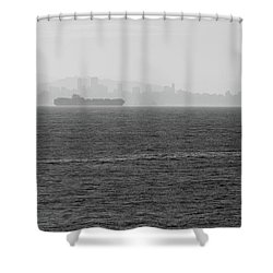 Quiet Giants Shower Curtain