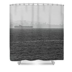 Quiet Giants Shower Curtain