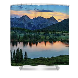 Quiet In The San Juans Shower Curtain
