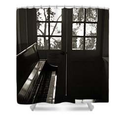 Quiet Interlude Shower Curtain