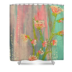 Quiet Marshmallow Time Shower Curtain