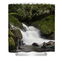 Shower Curtain featuring the photograph Quiet Meditation  by Julie Andel