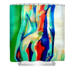 Quiet Nude Shower Curtain
