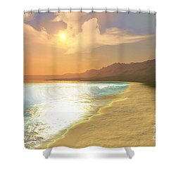 Quiet Places Shower Curtain by Corey Ford