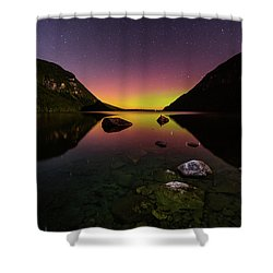 Quiet Reflection Shower Curtain