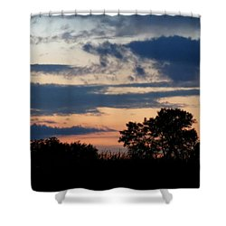 Quiet Thoughts Shower Curtain by Kyle West