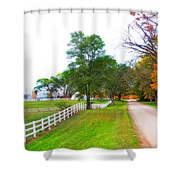 Quintessence Of Autumn Shower Curtain