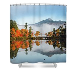 Mount Chocorua Fall Reflection Shower Curtain