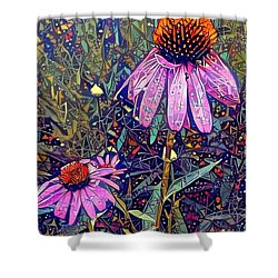 Shower Curtain featuring the photograph Quite Contrary  by Geri Glavis