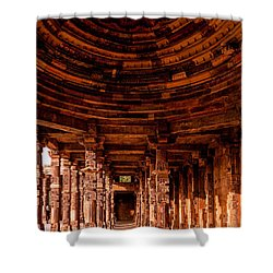 Qutub Minar Shower Curtain