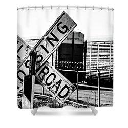 R/R Shower Curtain