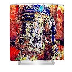 R2 - D2 Shower Curtain