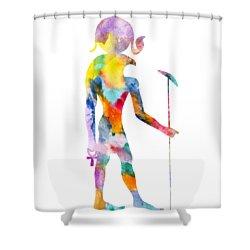 Ra - God Of Ancient Egypt Shower Curtain
