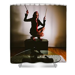 Rabbit Ears Shower Curtain