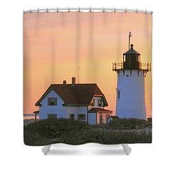 Race Point Light Shower Curtain
