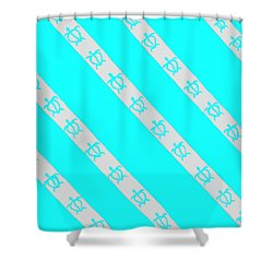 Shower Curtain featuring the painting Race To The Sea 2 by Darice Machel McGuire