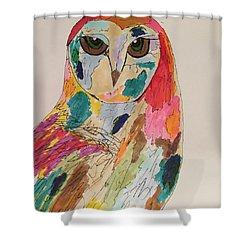 Rachael Shower Curtain by M Stuart