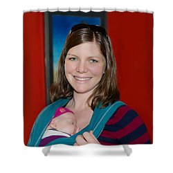 Rachel Madonna Shower Curtain