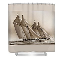 Racing Yachts Shower Curtain