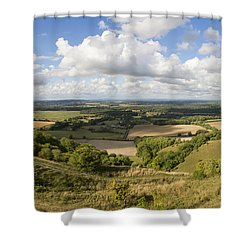 Rackham Hill To The North Downs Shower Curtain