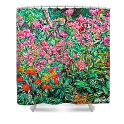 Radford Flower Garden Shower Curtain