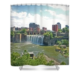 Radiance High Falls Shower Curtain