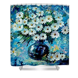 Radiance Shower Curtain by Leonid Afremov