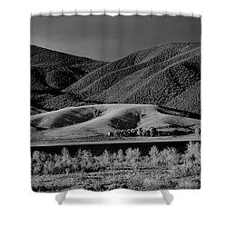 Radiant Shower Curtain by Brian Duram