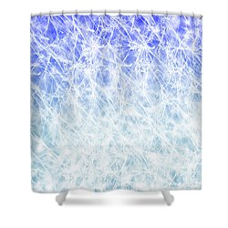 Radiant Days Shower Curtain