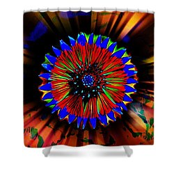 Radiate  Shower Curtain