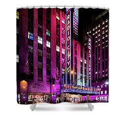 Radio City Music Hall Shower Curtain