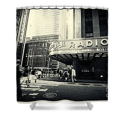 Radio City Music Hall Manhattan New York City Shower Curtain
