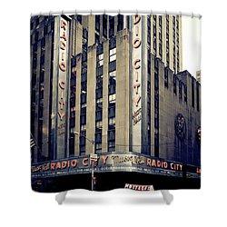 Radio City Shower Curtain