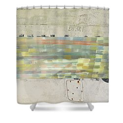 Radio Silence Shower Curtain