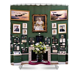 Raf Bentley Priory Shower Curtain by Alan Toepfer