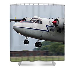 Raf Scampton 2017 - Hunting Percival P 66 Pembroke Taking Off Shower Curtain