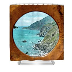 Ragged Point Shower Curtain