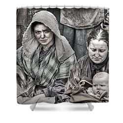 Ragged Victorians 8 Shower Curtain