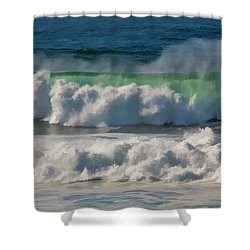 Raging Waters Shower Curtain