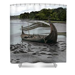 Ragnar's Epitaph Shower Curtain