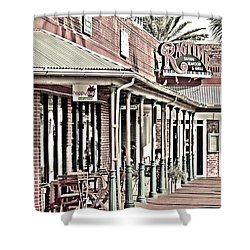Ragtime At The Beach Shower Curtain