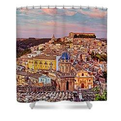 Ragusa Ilba Shower Curtain by Robert Charity