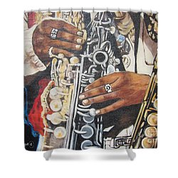 Rahsaan Roland Kirk- Jazz Shower Curtain