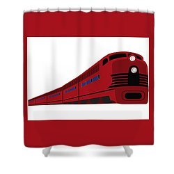 Rail Shower Curtain by Now